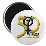 Mercury's 50th Anniversary! Magnet