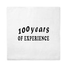 100 years birthday designs Queen Duvet