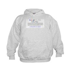 Google Glass Privacy Policy Hoodie