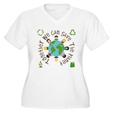Together Save the Planet T-Shirt