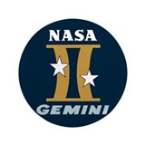"Project Gemini Program Logo 3.5"" Button"