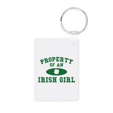 Property Of An Irish Keychains