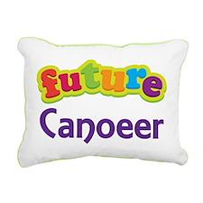 Future Canoeer Rectangular Canvas Pillow