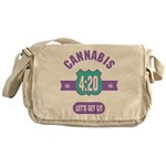 Cannabis 420 Messenger Bag