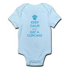 Keep calm and eat a cupcake Infant Bodysuit