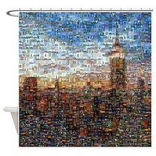 New York Mosaic Shower Curtain