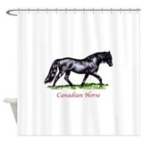 Canadian Horse Shower Curtain