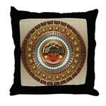 Aztec Indian Print Throw Pillow