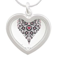 Love Veronica Silver Heart Necklace