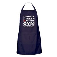 No Time For Your Crap Apron (dark)