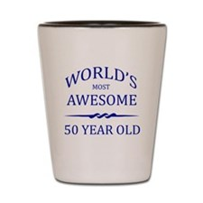 World's Most Awesome 50 Year Old Shot Glass