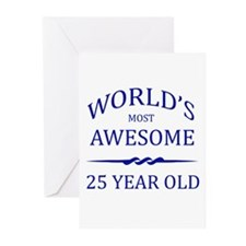 World's Most Awesome 25 Year Old Greeting Cards (P