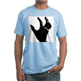 Black Peripatos Hand T-Shirt