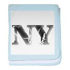 New York Liberty baby blanket