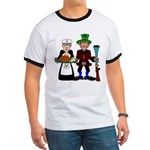 Masonic/OES Thanksgiving Pilgrims Ringer T