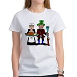 Masonic/OES Thanksgiving Pilgrims Women's T-Shirt