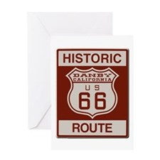 Danby Route 66 Greeting Card
