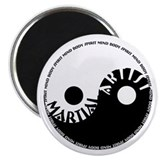 "Mind Body Spirit 2.25"" Magnet (100 pack)"