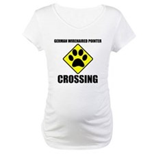 German Wirehaired Pointer Crossing Shirt