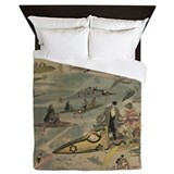 Cool Steam Queen Duvet