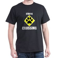 Staffie Crossing T-Shirt
