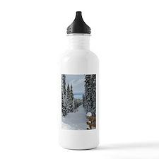 Frosty Forest Water Bottle