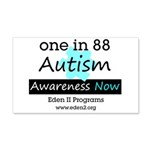 Autism Awareness Square Wall Decal