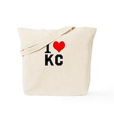 I Heart Kansas City Tote Bag