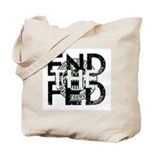 End the Fed Green Tote Bag