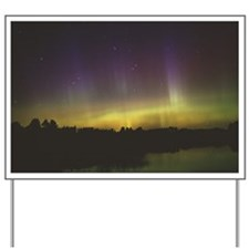 Aurora borealis - Yard Sign