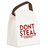 Dont Steal Canvas Lunch Bag