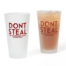 Dont Steal Drinking Glass