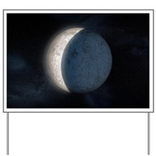 Lunar eclipse, artwork - Yard Sign