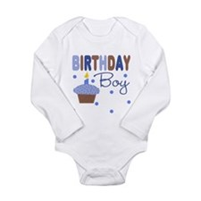 Birthday Boy Cupcake Baby Body Suit