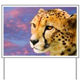 Cheetah - Yard Sign