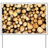 Logs - Yard Sign
