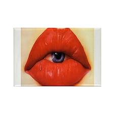 Lip eye Rectangle Magnet