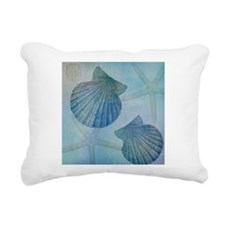 Shells Rectangular Canvas Pillow