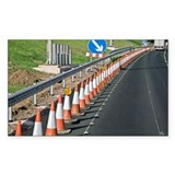Motorway traffic cones - Decal