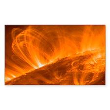 Solar coronal loops - Decal
