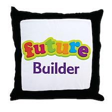 Future Builder Throw Pillow