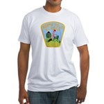 North Pole Police Fitted T-Shirt