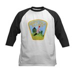 North Pole Police Kids Baseball Jersey