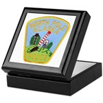 North Pole Police Keepsake Box