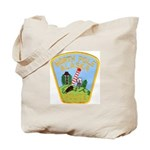 North Pole Police Tote Bag