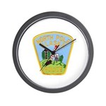 North Pole Police Wall Clock