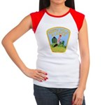 North Pole Police Women's Cap Sleeve T-Shirt