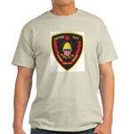 Pierre Police Ash Grey T-Shirt
