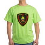 Pierre Police Green T-Shirt