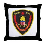 Pierre Police Throw Pillow